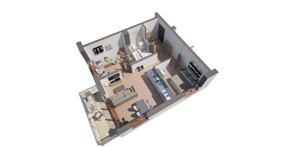 nowe mieszkanie 53m2 Koninko