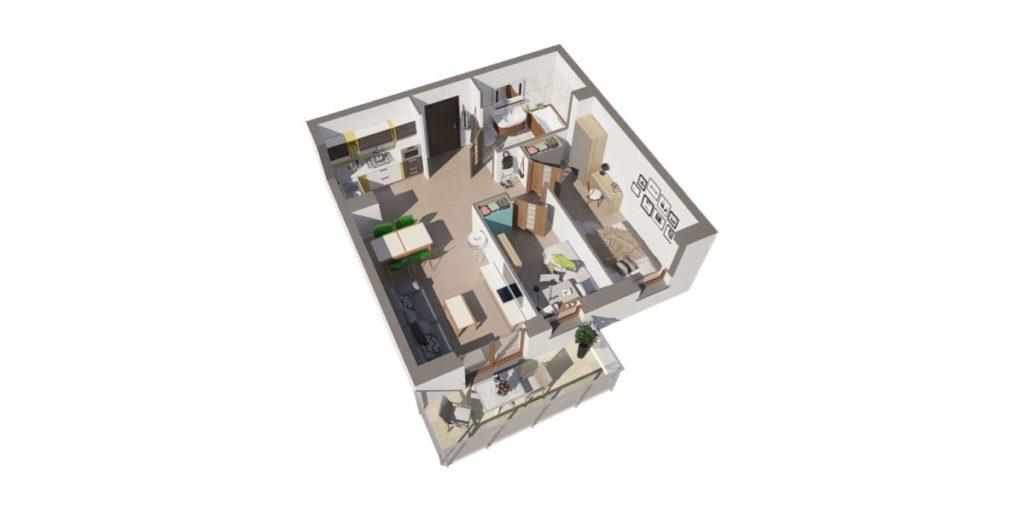 nowe mieszkanie Luboń Na Skarpie